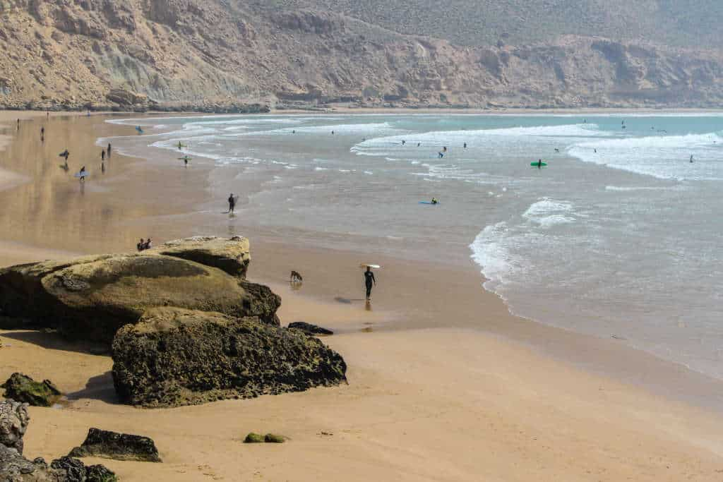 Surf camp taghazout